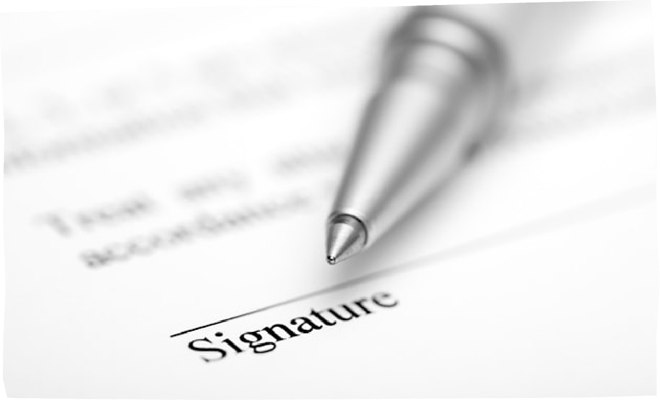 document-signature-line-with-pen-on-top